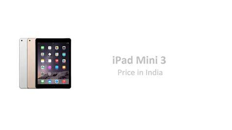 ipad air  ipad mini  price release date  india