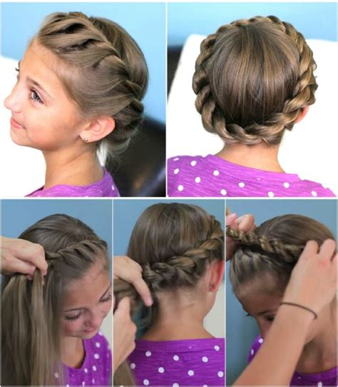 diy hairstyles for toddlers 12 super cute diy christmas hairstyles for all lengths