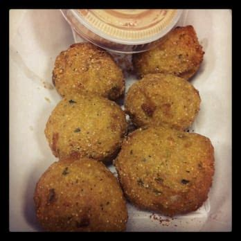 hush puppy dipping sauce jemil s big easy cajun creole downtown seattle wa yelp