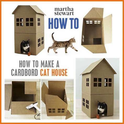 diy cardboard cat house best 25 cardboard cat house ideas on pinterest cat