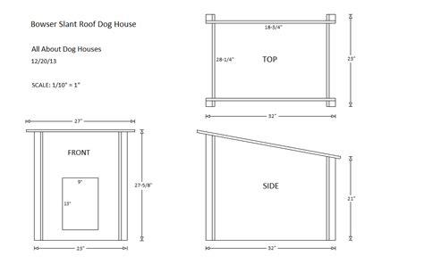 multi dog dog house diy slanted roof dog house