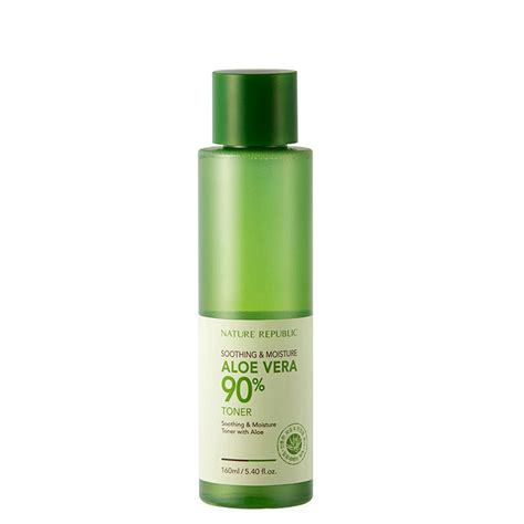 Nature Republic Soothing Moisture Aloe Vera 80 Emulsion Review soothing moisture aloe vera 80 emulsion