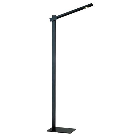 ravenna modern black led floor lamp eurway furniture