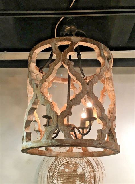 White Washed Wood Chandelier Rustic Large Boho Anthropologie Style White Washed Wood Chandelier M Lighting