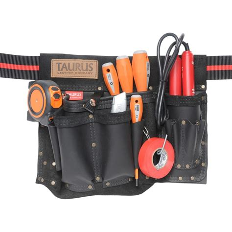 classic electrician s leather tool belt taurus leather