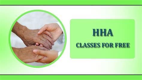 free hha training home health free home health aide training classes hha classes for