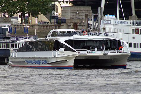 thames clipper from embankment typhoon clipper thames clippers river thames london