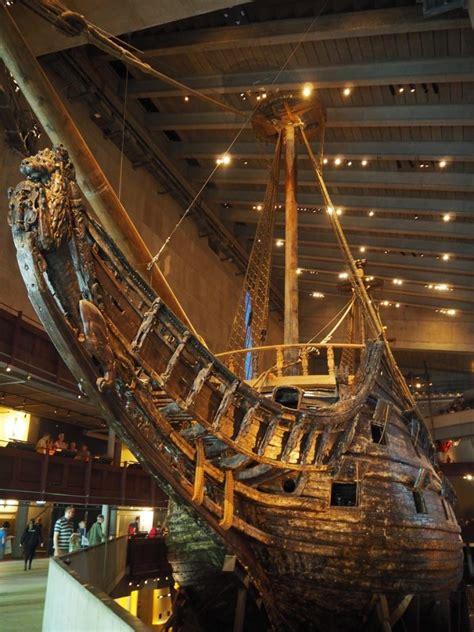 museum schip vasa een uniek 17e eeuwse schip ensannereist