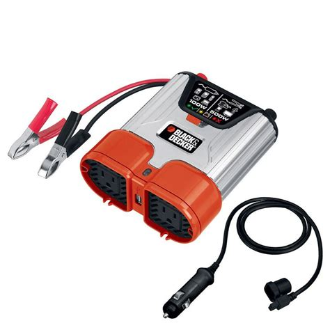 Power Lifier 500 Watt black decker 500 watt dual outlet power inverter shop
