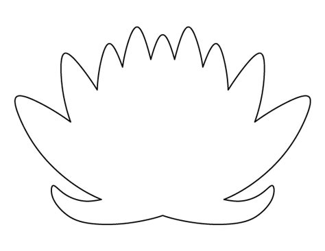 lotus flower template flower cut out template page 2 flowers ideas for review