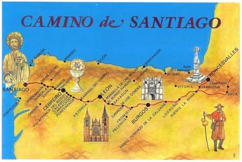 how about walking the camino de santiago in 2012