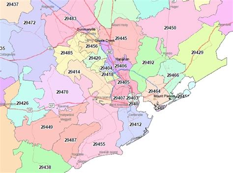 Sc Zip Code Map by Search Charleston Home Listings By Zip Code