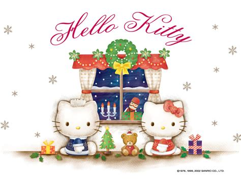 wallpaper christmas sanrio hello kitty images hello kitty wallpaper wallpaper photos