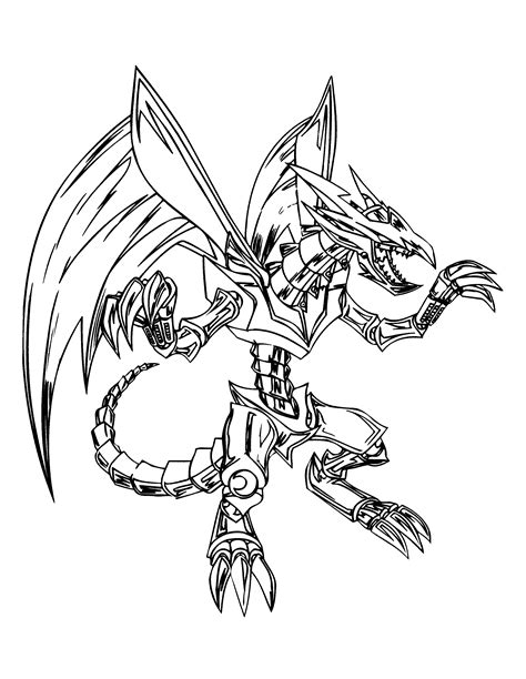 coloring pages yugioh monsters free yugioh monsters coloring pages