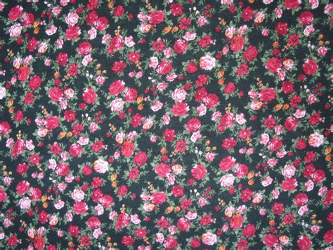 floral knit fabric jersey knit fabric floral on black