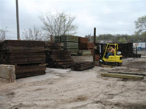 Landscape Timbers For Ground Contact Landscape Designs Inc Timber Railroad Tie Products