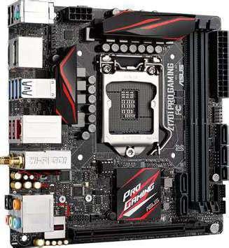 Best Buy Motherboard Asus X99 A Socket 1151 asus z170i pro gaming mini itx motherboards 1151 socket buy best price in uae dubai abu dhabi