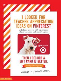 Target Gift Card Teacher Appreciation - teacher gifts on pinterest daycare teacher gifts sock cupcakes and daycares