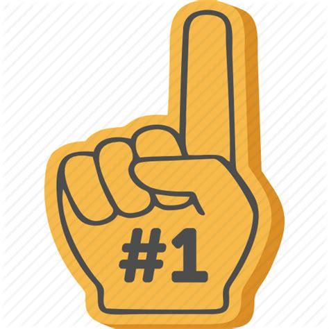 Kfeds Number One Fan by Png Foam Finger Transparent Foam Finger Png Images Pluspng