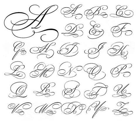 tattoo writing styles numbers script capital letters fonts pinterest google search
