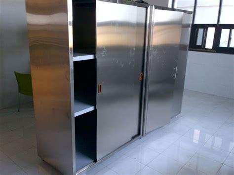 jual lemari dapur stainless steel