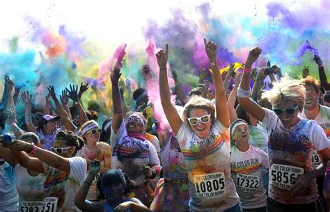 color run brings some news amarillo globe news