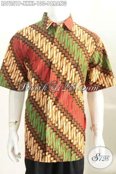 Gamis Batik Supervjumbo Jacinda hem batik parang jumbo baju batik pria yang gemuk sekali bahan adem proses printing