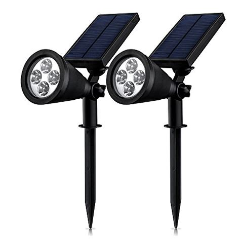 eclairage exterieur led mpow le solaire jardin