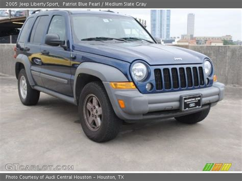 2005 Jeep Patriot Patriot Blue Pearl 2005 Jeep Liberty Sport Medium