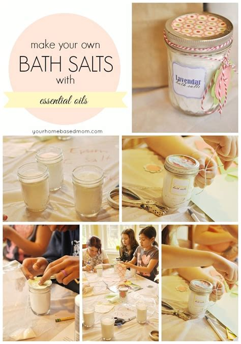 How To Use Bath Salts In Shower by Bath Salts For S Day Activity Day Idea