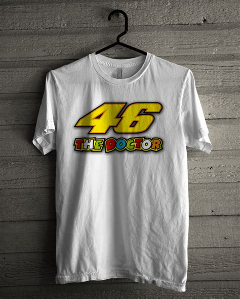 Kaos Distro Merah Vr 46 New kaos distro motogp the doctor vr46 kaos distro murah
