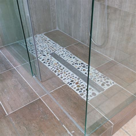 Luxury Powder Room Vanities Linear Shower Drain Installations In Ontario Canada