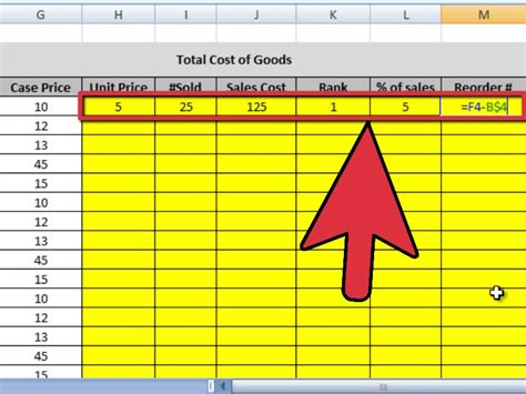 How To Create An Inventory Spreadsheet by 4 Ways To Create An Inventory List In Excel Wikihow
