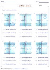 pictures transformations geometry worksheets getadating