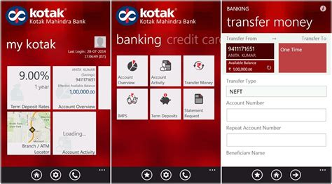 how to open account in kotak mahindra bank the official app for kotak mahindra bank arrives on