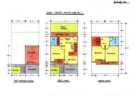 layout fungsional desain rumah minimalis type 90 pamanalifia
