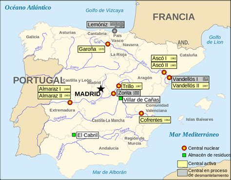 nuclear map file nuclear power plants map spain es svg wikimedia commons