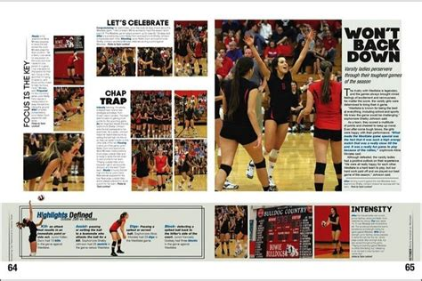 yearbook layout exles volleyball spread phs yearbook 2014 pinterest