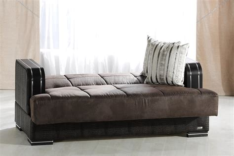 elegant sleeper sofa elegant two tone living room with storage sleeper sofa