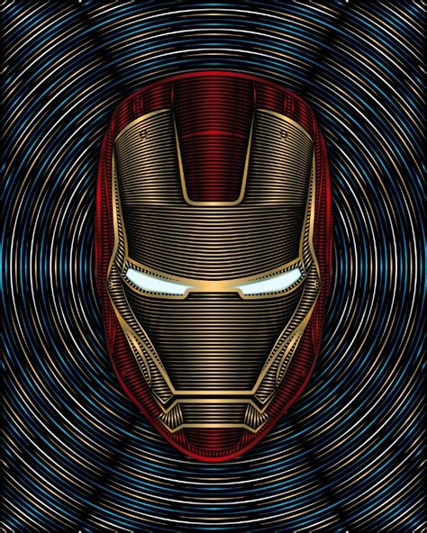 iron man arc reactor art print nathan owens iron