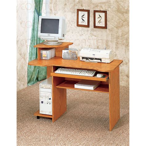 wood computer desks for home small computer desk