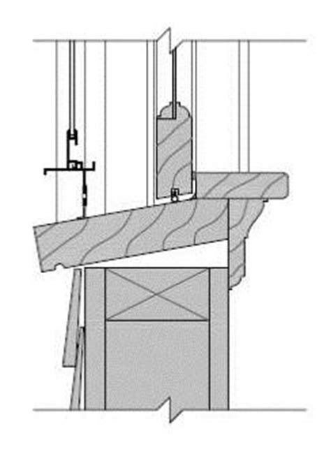 How To Frame A Window Sill Window Sill At Wood Frame Wall Building America Solution