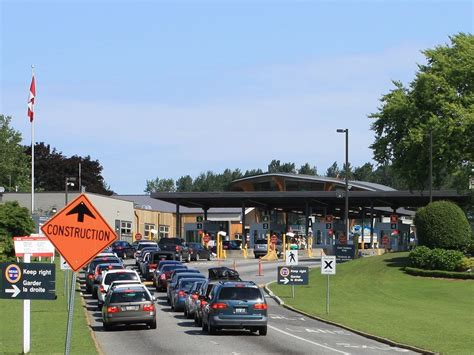 Border Crossings list of canada united states border crossings