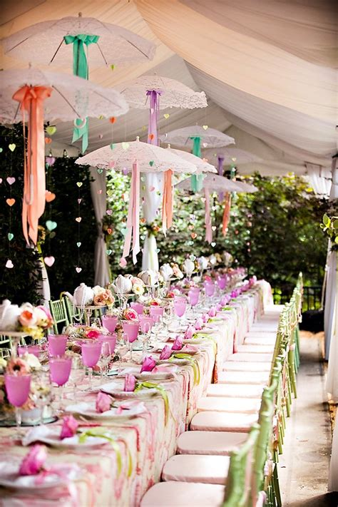 decorating ideas for themed bridal shower outdoor vintage lace tea bridal shower bridal shower ideas themes