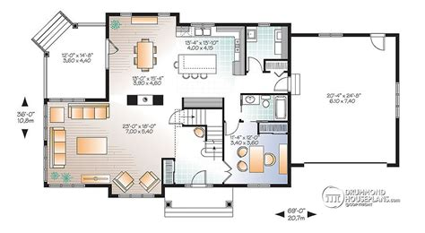 Dual Master Bedroom Floor Plans by 4 Bedroom Traditional House Plan With Rustic Touches Amp Two