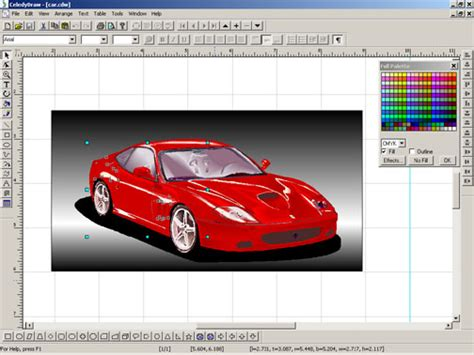vehicle graphics design software graphic design and desktop publishing software screenshot