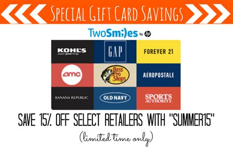 Bass Pro Gift Card Discount - twosmiles discount code save 15 off gift cards