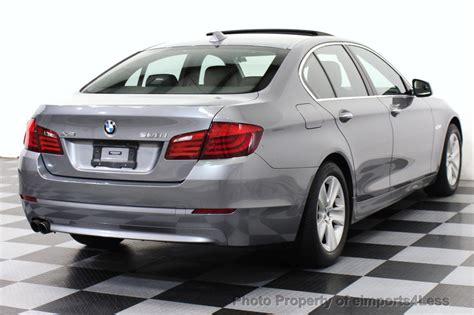 2013 bmw 528xi 2013 used bmw 5 series certified 528xi xdrive awd sedan