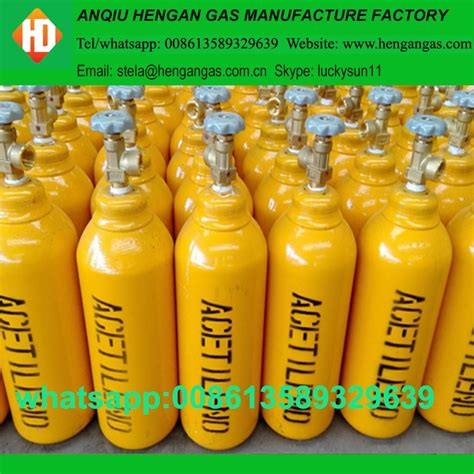 high purity compressed gas cylinder lng acetylene storage cylinder high purity 99 999 argon gas prices with certificate of argon gas hengangas