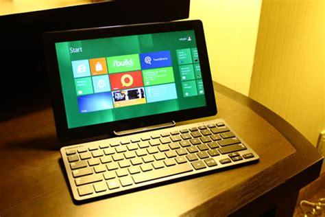 microsoft devoile windows  sur une tablette samsung